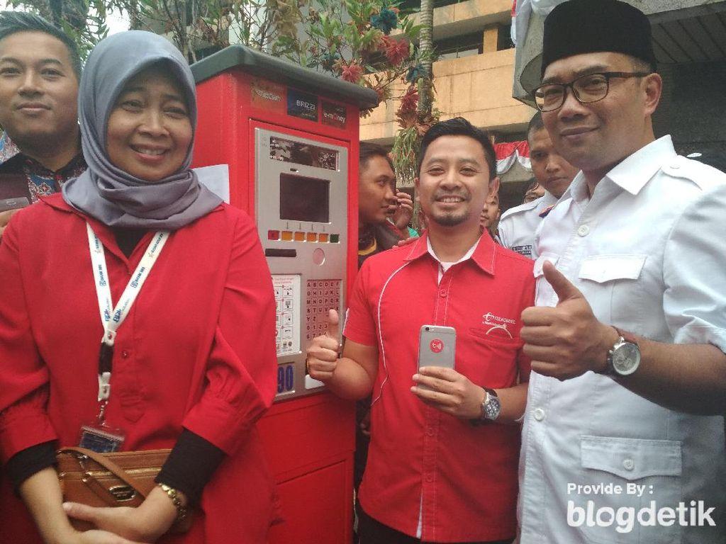 Pjs Wali Kota Bandung Evaluasi Mesin Parkir