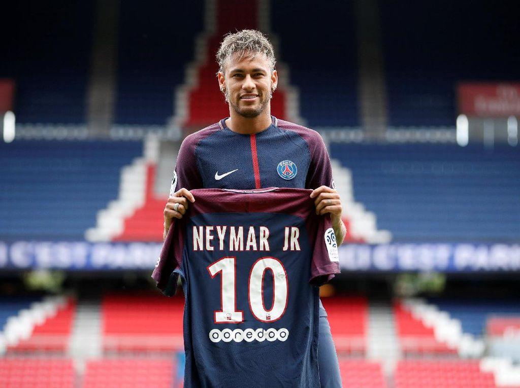 Pastore: Merelakan Nomor Punggung 10 untuk Neymar Bukanlah Keputusan Sulit