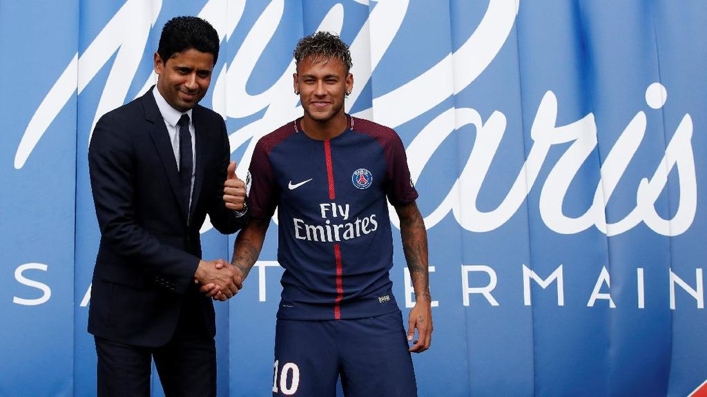 Hari Pertama Neymar di PSG