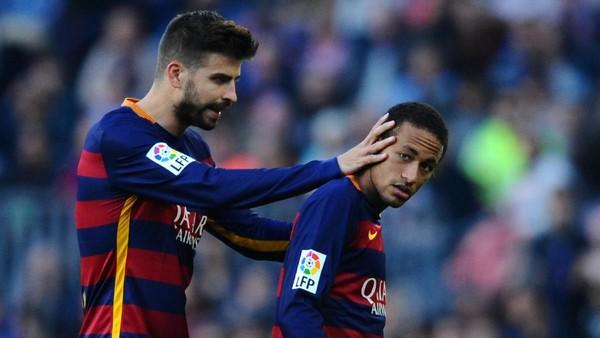 Neymar Angkat Bicara soal Kicauan Pique tentang Masa Depannya