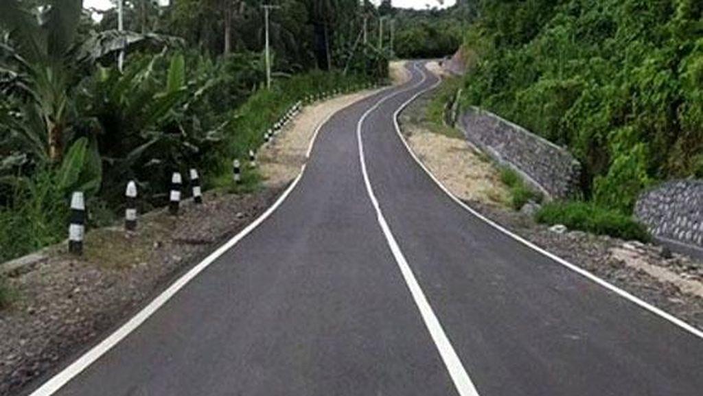 Foto: Begini Lho Mulusnya Jalan Trans Papua Bagian Barat