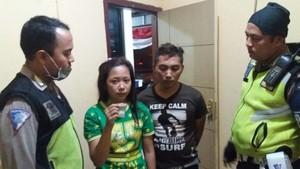 Berawal Pelanggaran Lalu Lintas, Polisi Bekuk Pasutri Kurir Sabu