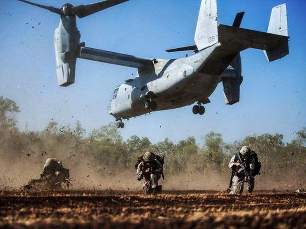 Kemhan Klarifikasi Isu Pembelian Pesawat MV-22 Osprey