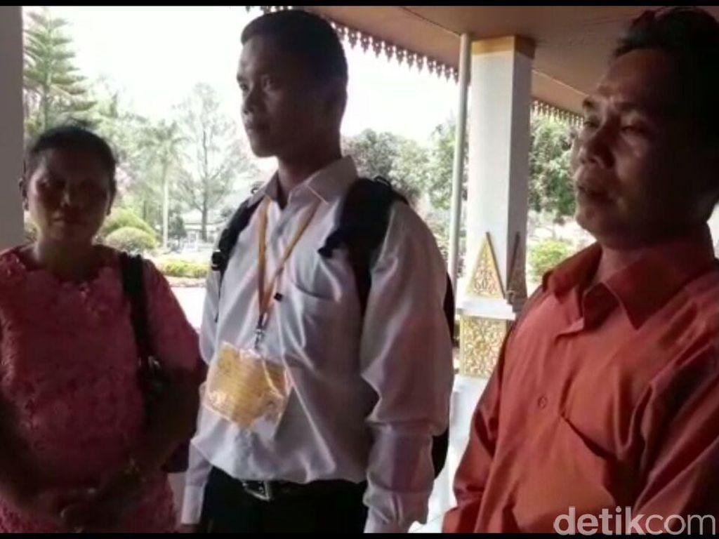 Cerita Tukang Tambal Ban di Riau yang Anaknya Jadi Bintara Polri