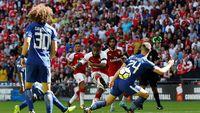Arsenal vs Chelsea Masih Tanpa Gol