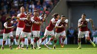Kalahkan Chelsea Lewat Adu Penalti, Arsenal Juara Community Shield 2017
