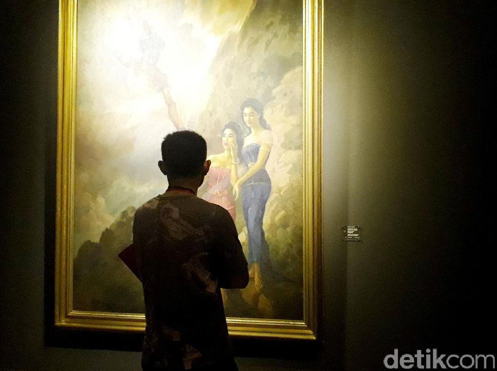 Begini Suasana Pameran Lukisan Istana Kepresidenan