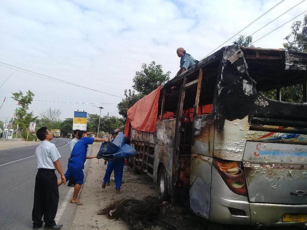 Meski Jadi Tersangka, Namun Sopir Bus Sugeng Rahayu Tak Ditahan