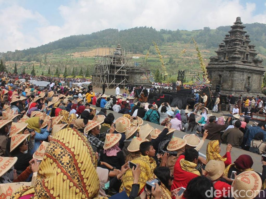 Perhelatan Dieng Culture Festival Dimulai Pagi Ini, Sudah Siap?