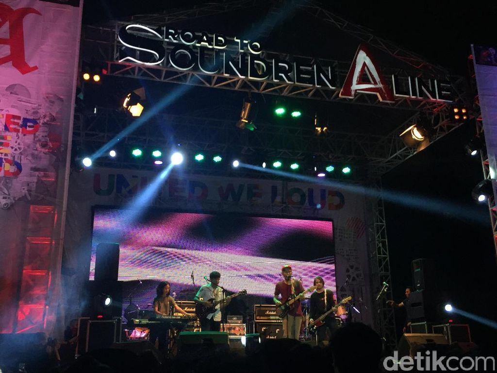 The Adams Bawakan Lagu Baru di Road to Soundrenaline