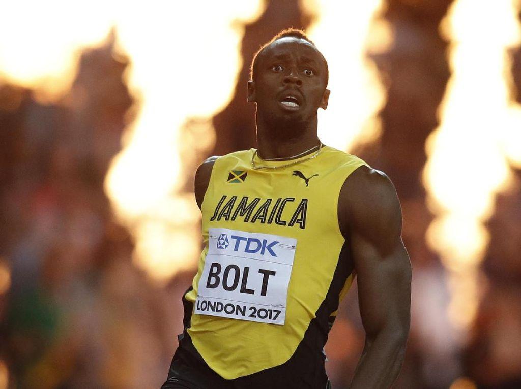 Manusia Tercepat Usain Bolt Diduga Kena Corona Usai Pesta Ulang Tahun