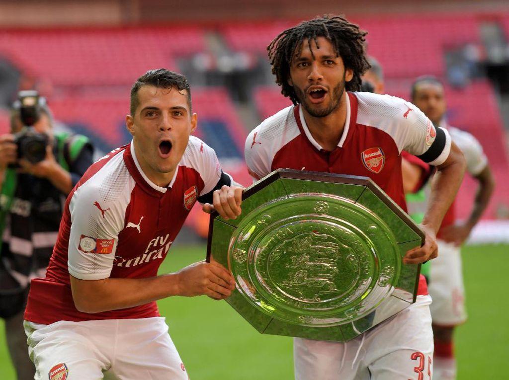 Titel Community Shield Jadi Penambah Motivasi Arsenal