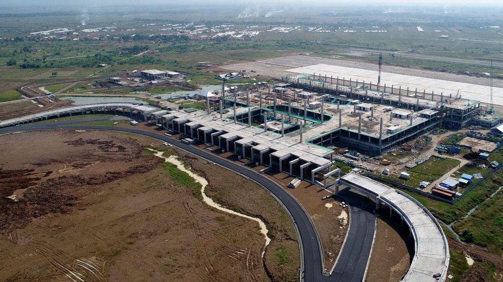 Foto: Kondisi Pembangunan Bandara Kertajati Terkini