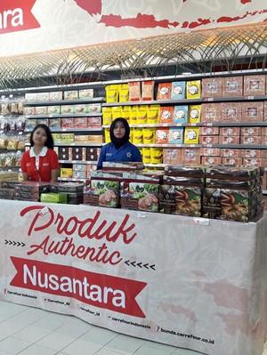 Tambahan Diskon 5% Sambal Nusantara di Transmart Carrefour