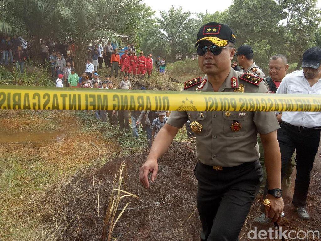 50 Hektare Lahan Terbakar, Kapolda Sumsel: Pelaku Ditindak Tegas