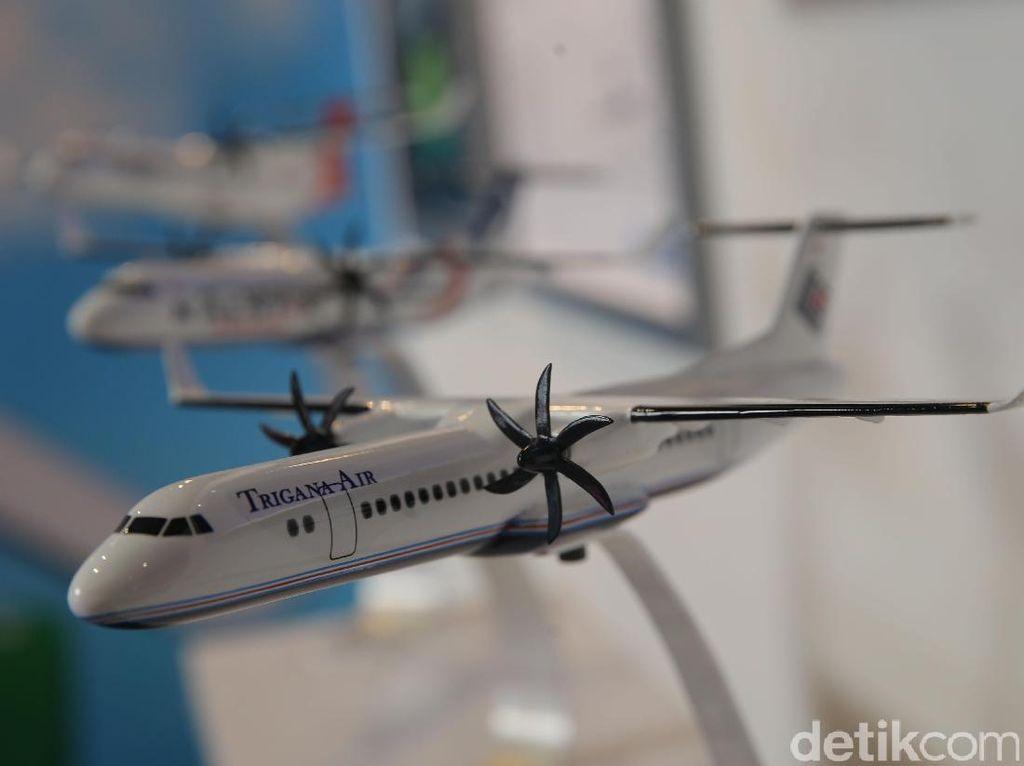 Mengintip Kecanggihan Pesawat R80 Buatan Habibie di Kemayoran