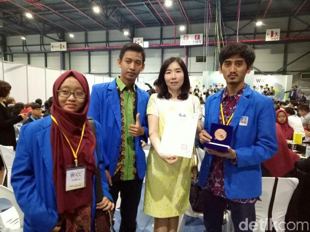 Inovasi Aromaterapi Karya Mahasiswa UII Raih Medali Emas di Korsel