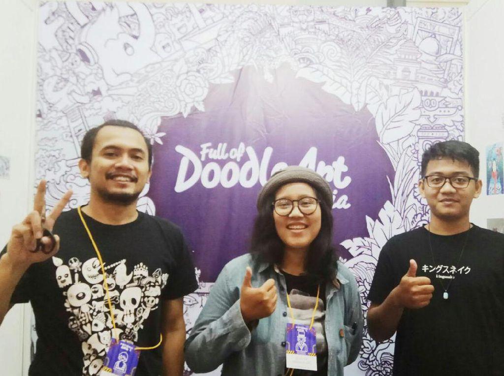 Komunitas Full of Doodle Art Indonesia Eksis hingga ke 8 Kota