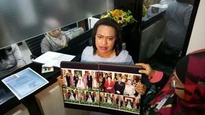 Laporkan Anggota DPR, Yunike Bawa Foto Nikah yang Dihadiri Mega