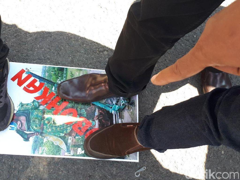 Ormas di Jatim: 7X24 Jam Patung Raksasa di Tuban Harus Dirobohkan