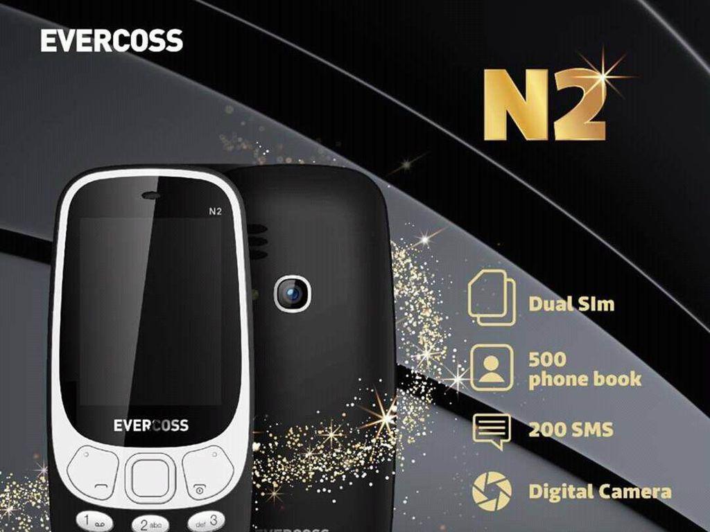Ponsel Merek Lokal Ini Mirip Nokia 3310 Reborn