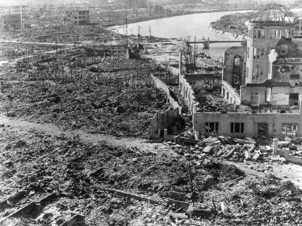 Foto: Begini Kondisi Kota Hiroshima Usai Dibom Atom