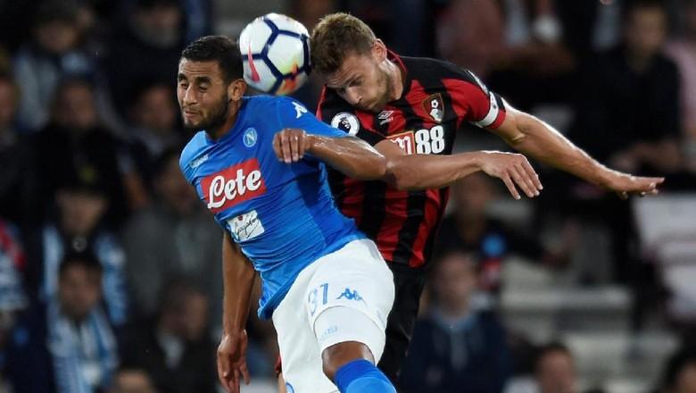 Napoli Diimbangi Bournemouth 2-2