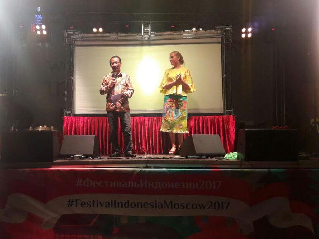 Festival Indonesia  di Moskow Dikunjungi 90 Ribu Orang