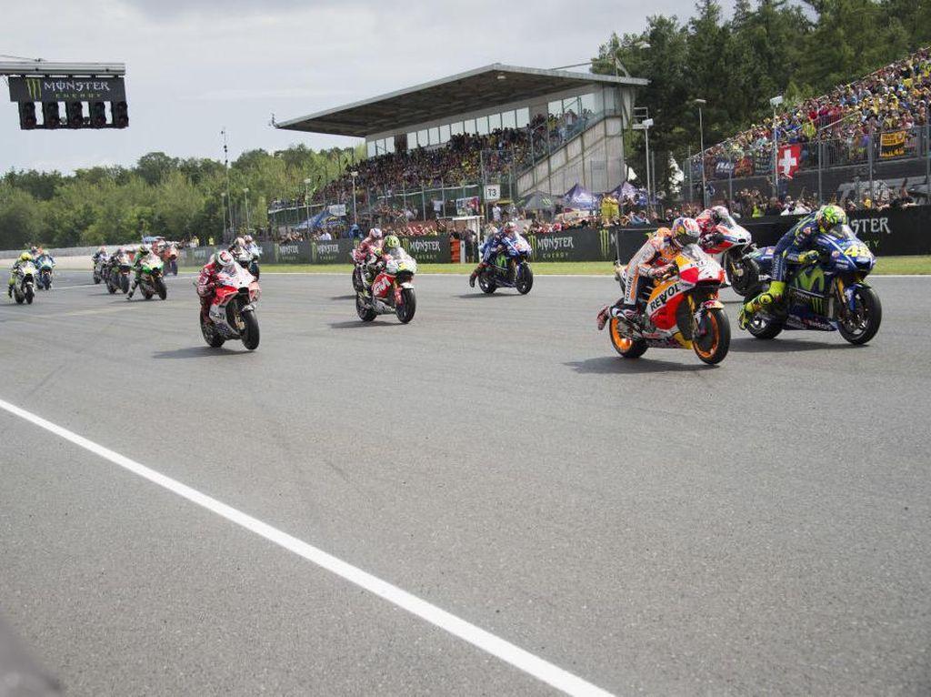 Podium MotoGP Republik Ceko Milik Trio Spanyol