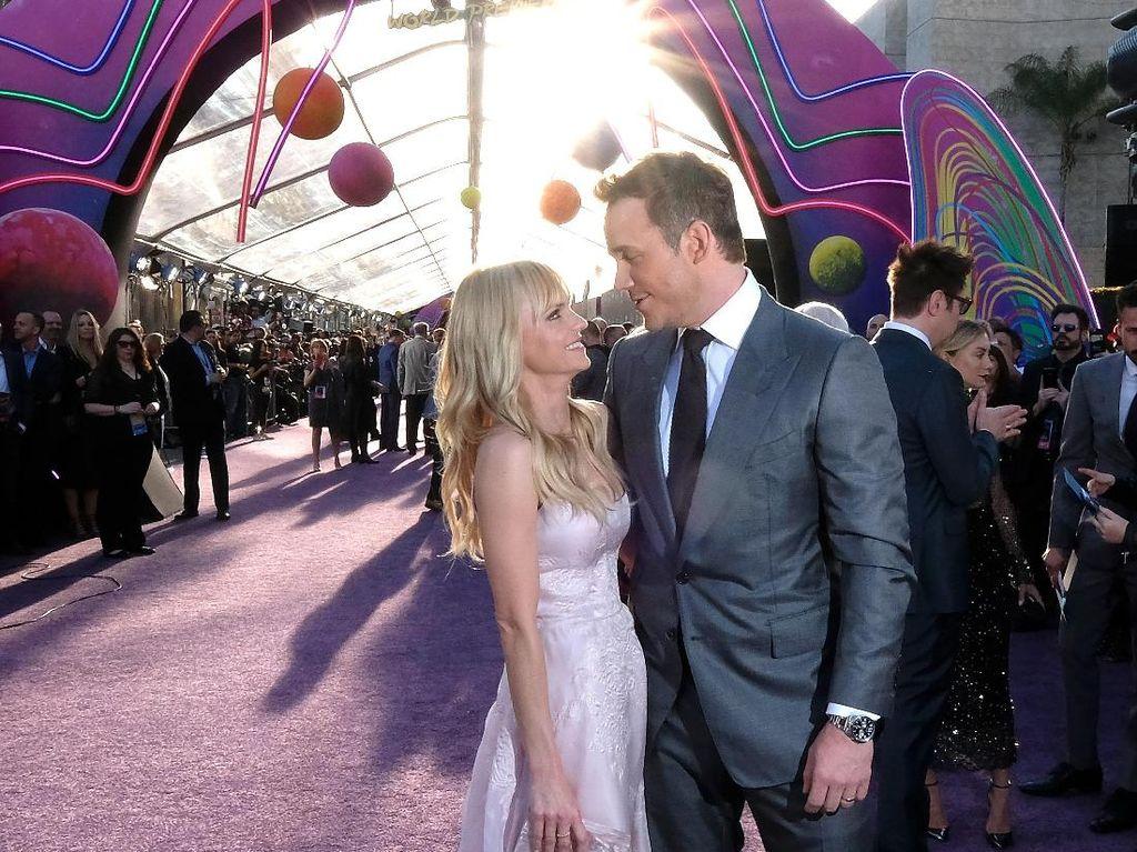 Foto: Mesranya Chris Pratt dan Anna Faris di Karpet Merah Sebelum Cerai
