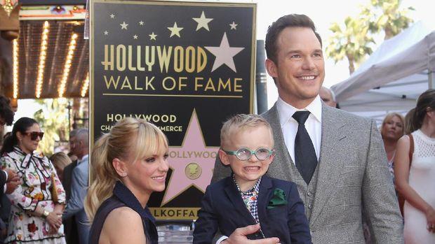 Cerita Chris Pratt Habiskan Waktu Bareng Anak dan Mantan Istri