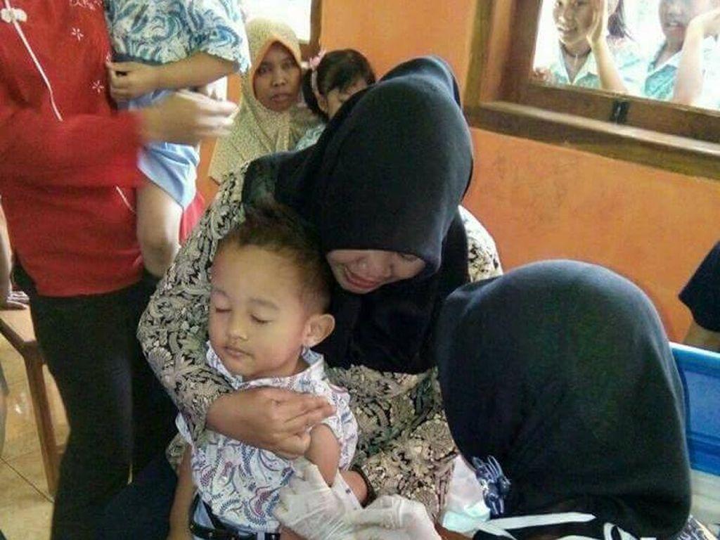 Kemenkes Optimis Cakupan Vaksin MR di Jawa Capai 95 Persen