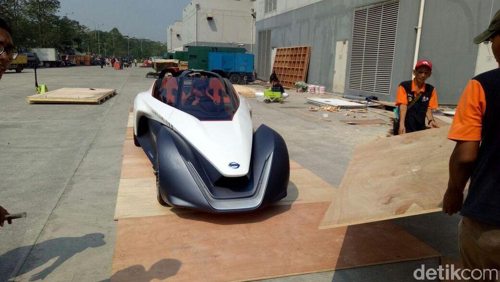 Mobil Listrik Keren Nissan Mendarat di Tangerang