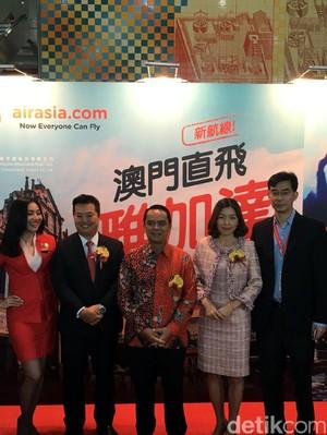 Asyik! Menjajal Penerbangan Perdana AirAsia Jakarta-Makau