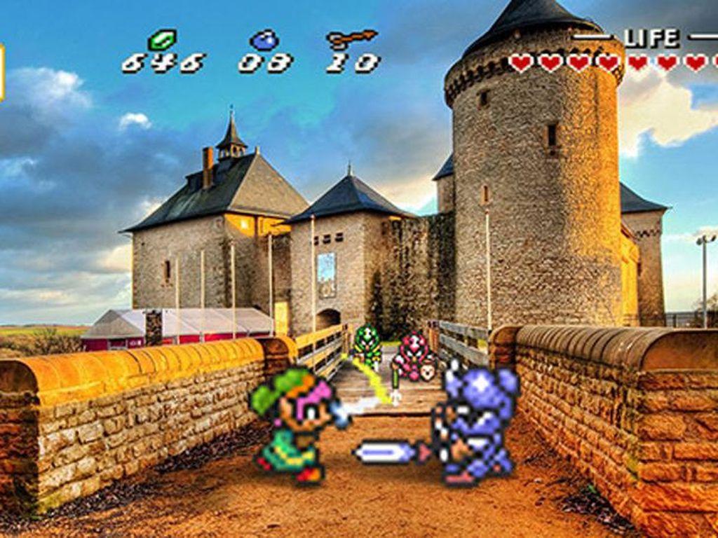 Ketika Karakter Game 16 Bit Beraksi di Dunia Nyata