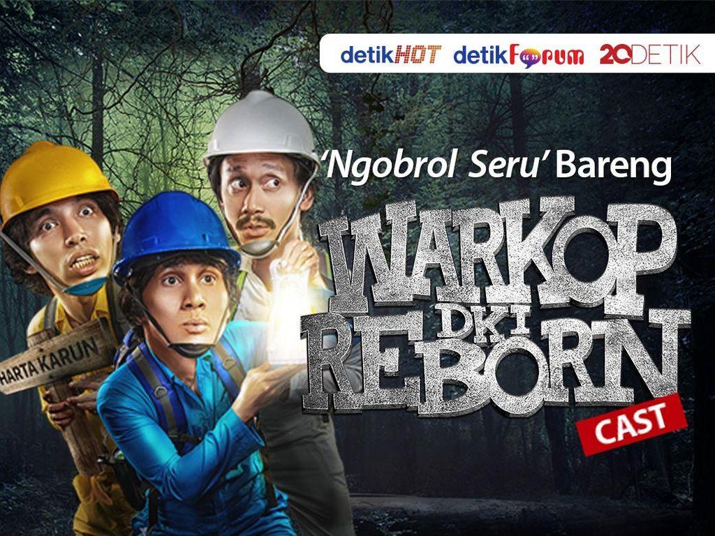 Yuk, Simak Ngobrol Bareng Cast Warkop DKI Reborn 2!