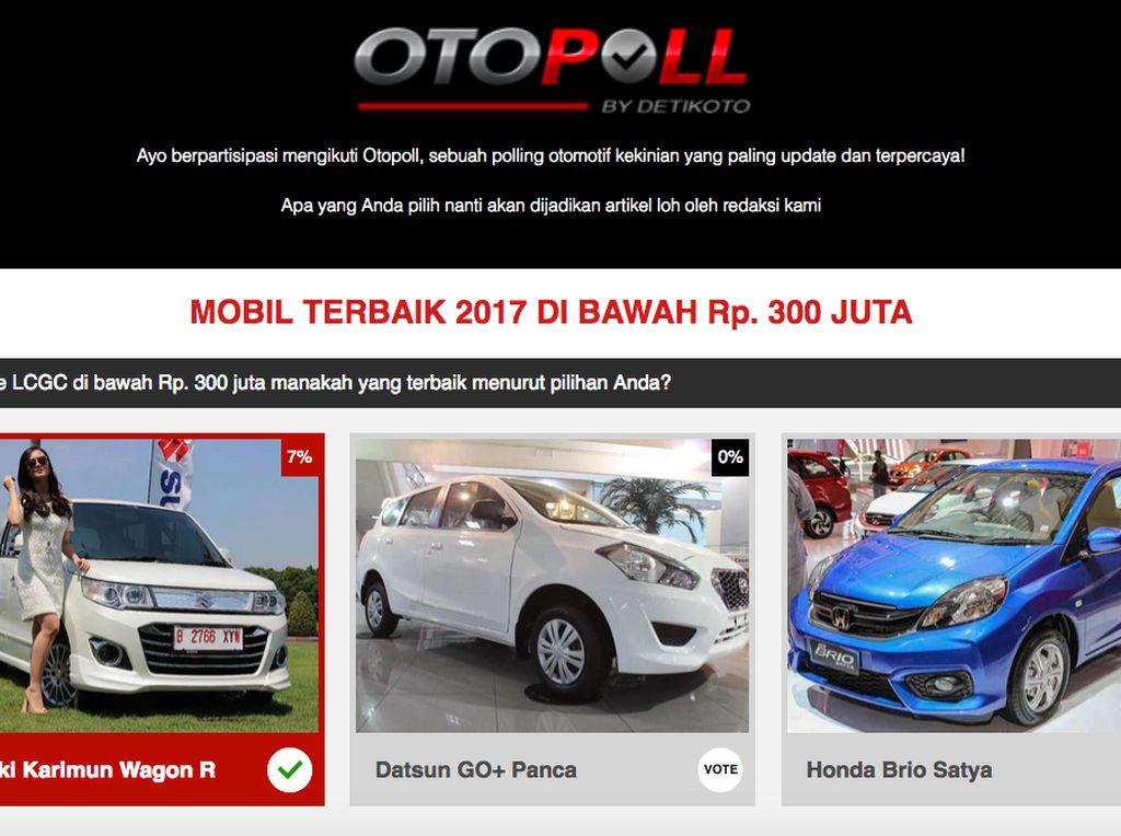 Polling: Mana Mobil Berharga Rp 300 Juta yang Paling Keren?