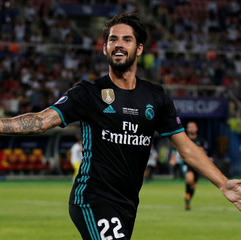 Isco: MU Sangat Bagus, tapi Madrid yang Terbaik