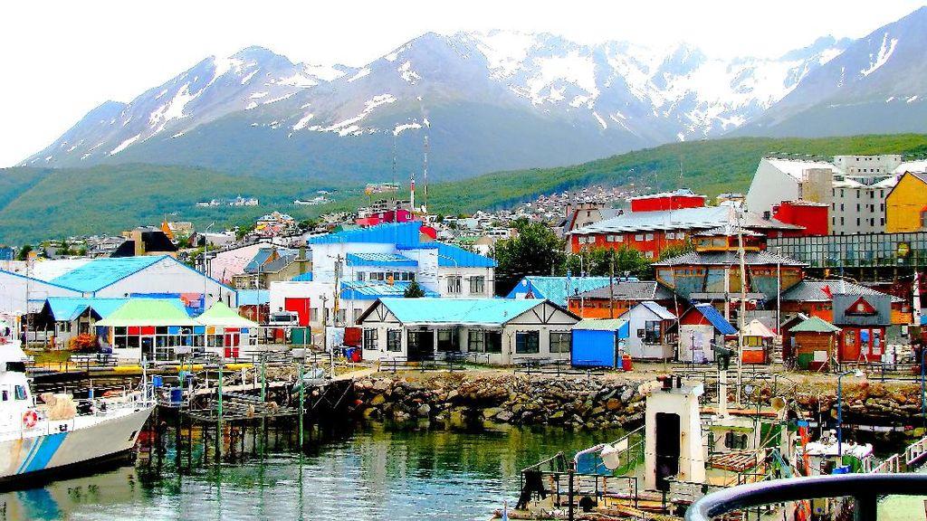 Foto: Ini Kota Paling Ujung Selatan Bumi