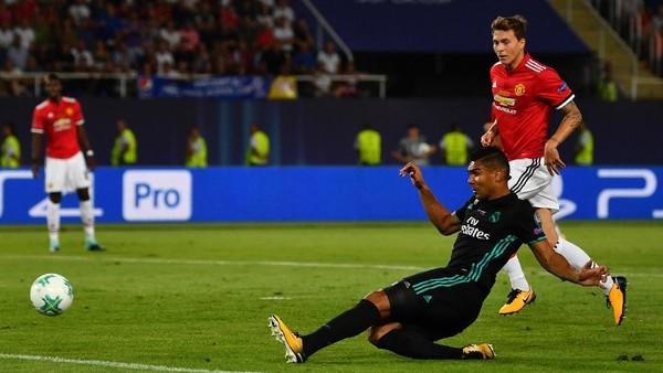 Casemiro Bawa Madrid Unggul 1-0 atas MU