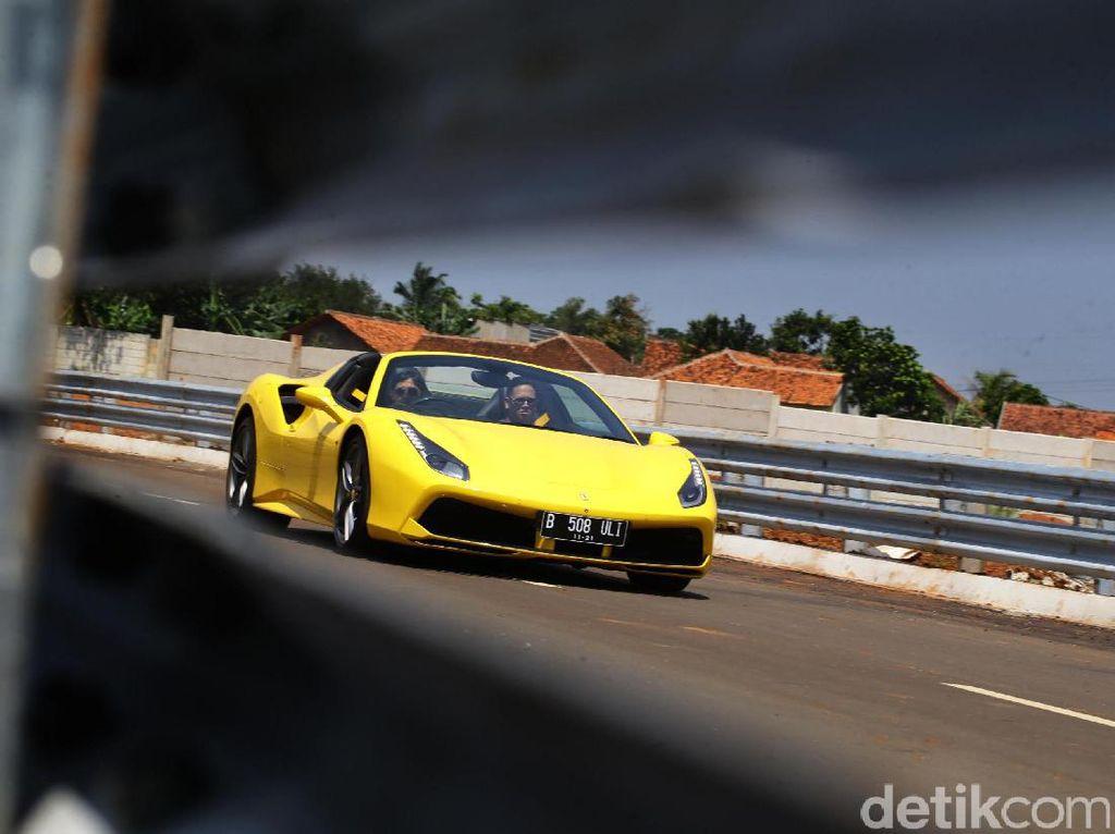 Ferrari Cs Hampir Tak Terlihat, Setahun Kurang dari 50 Unit