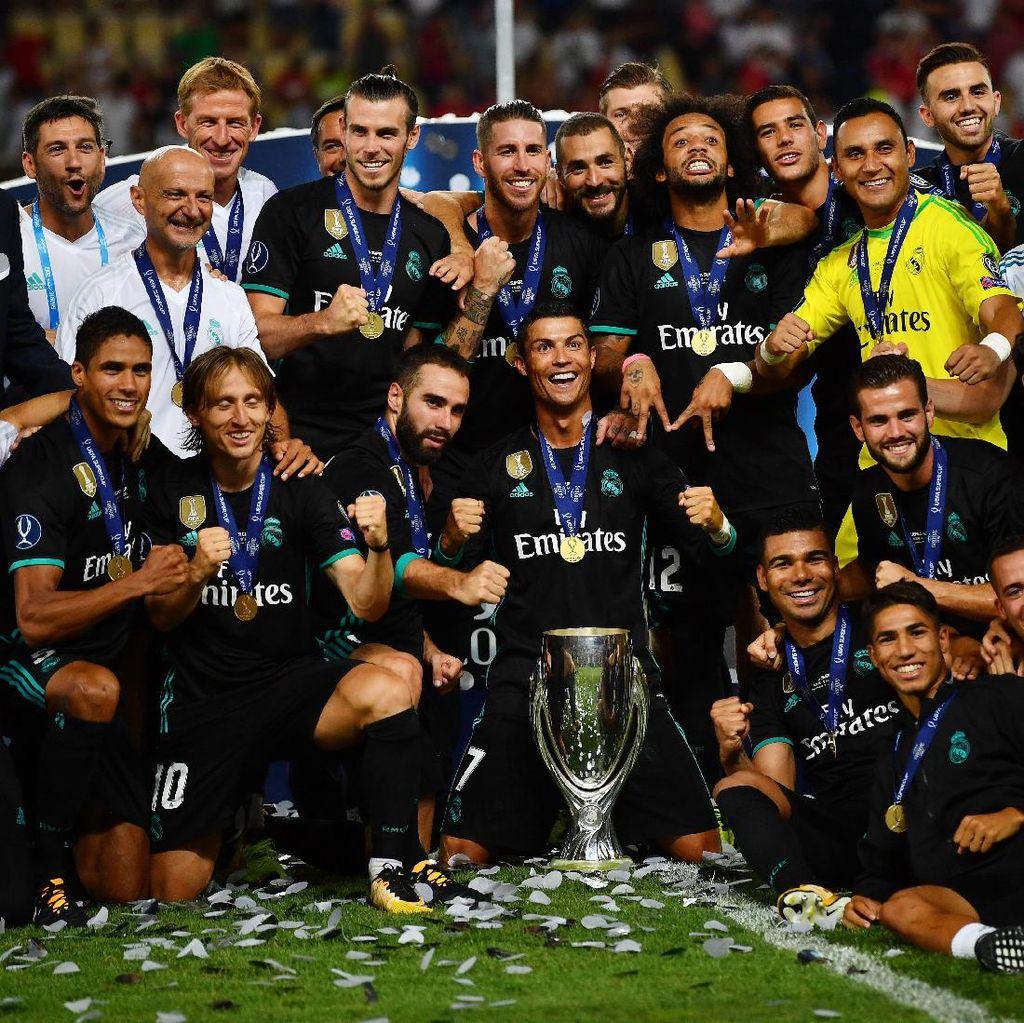Madrid Lanjutkan Dominasi Klub Spanyol di Piala Super Eropa