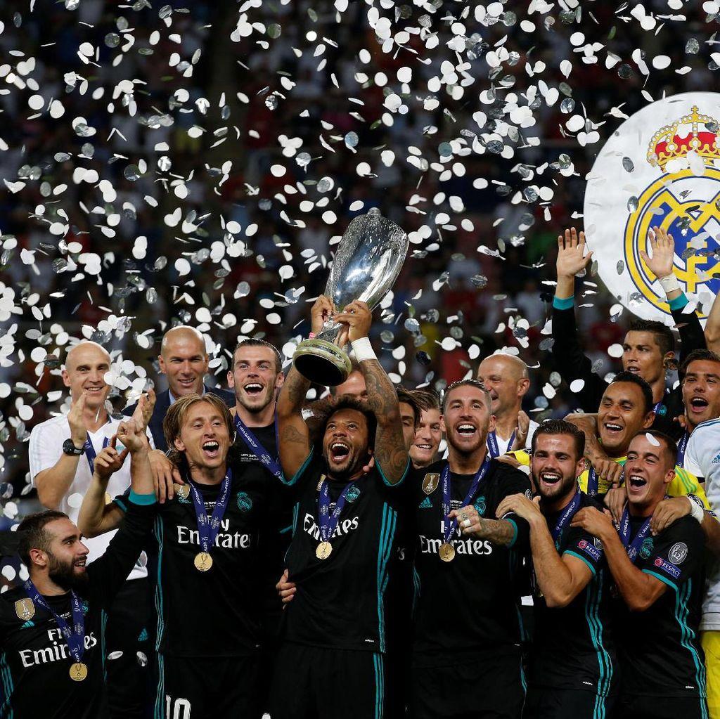 Piala Super Eropa Sudah di Tangan, Madrid Kini Bidik Piala Super Spanyol