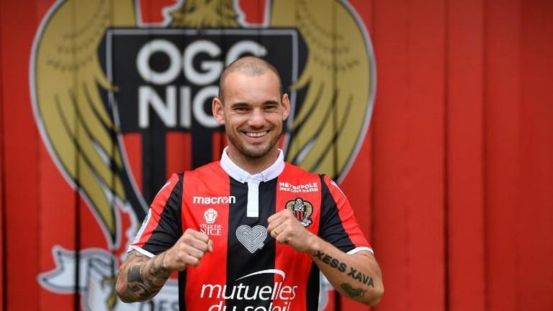 Sneijder Pilih Nice Bukan karena Ibrahimovic, Neymar, atau Balotelli
