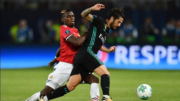 Madrid Raih Piala Super Eropa Usai Kalahkan MU 2-1