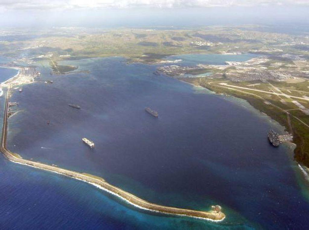Foto: Guam, Lokasi Pangkalan Militer AS yang Terancam Dirudal Korut