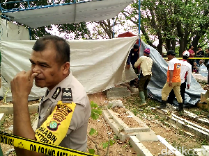 Autopsi Rampung, Warga Tinggalkan Makam Tertuduh Pencuri Ampli
