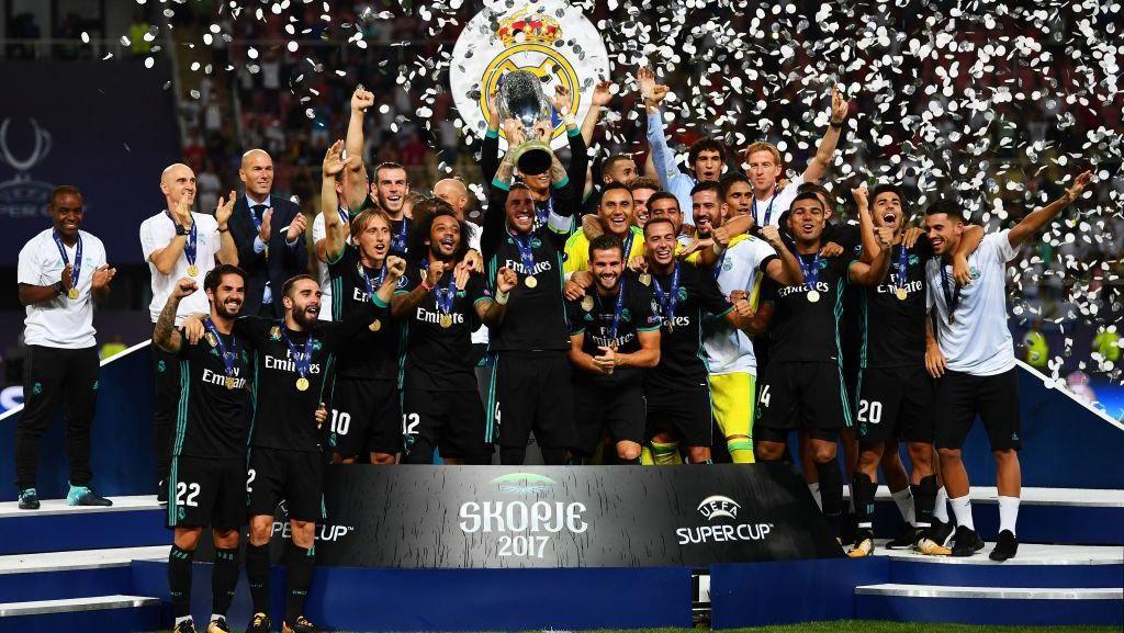 Madrid Juara #SuperCup2017 Menggema