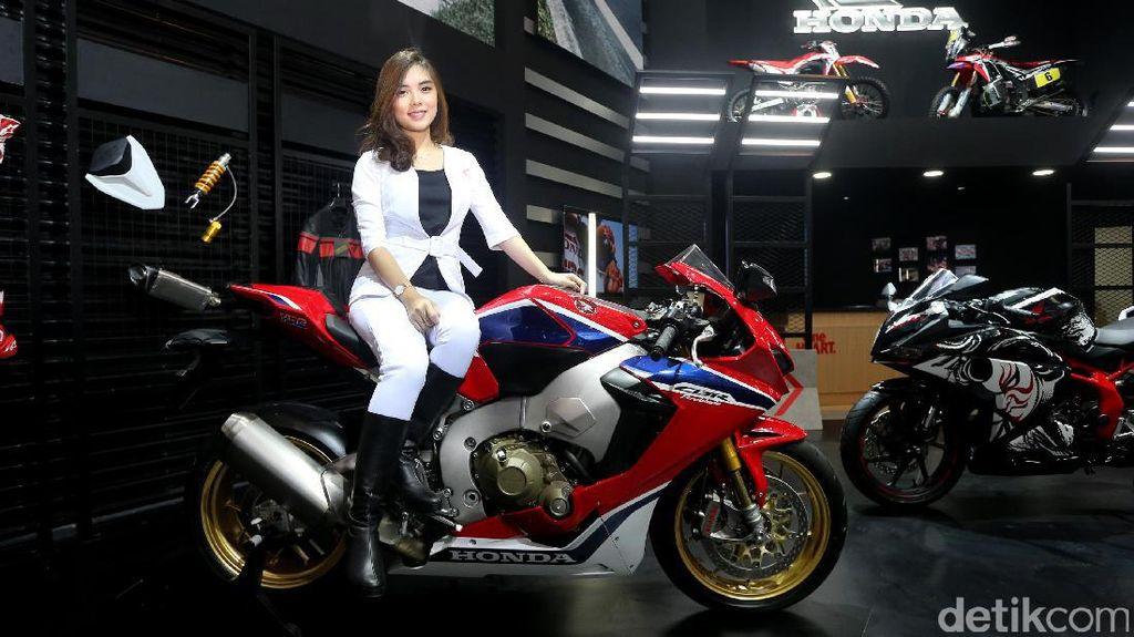 CBR1000RR dan CBR 250RR, Motor Mewah Honda yang Mejeng di GIIAS