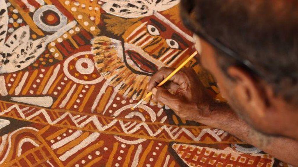 Suvenir Palsu Aborigin Banyak Dibuat di Bali